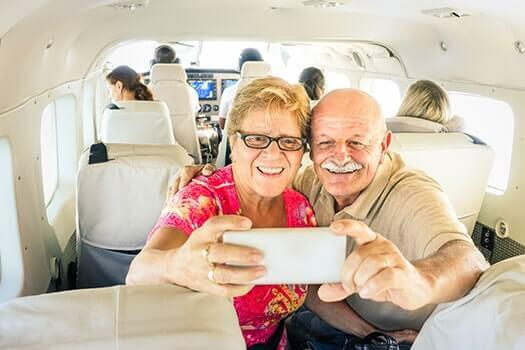 How Elders Can Stay Safe While Flying in Folsom, CA